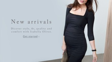 Isabella Oliver Maternity Autumn Winter 2015 banner