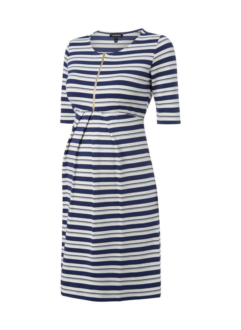 The Blue Beaumont Maternity Dress Isabella Oliver