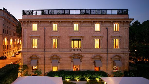 Babymoon at Villa Spalletti Trivelli, Rome