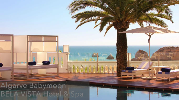Algarve Babymoon at BELA VISTA Hotel & Spa – Relais & Châteaux, Portimão, Portugal