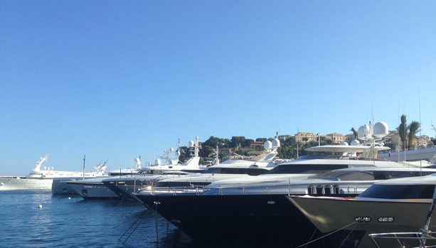 Yacht Watching in Monte Carlo
