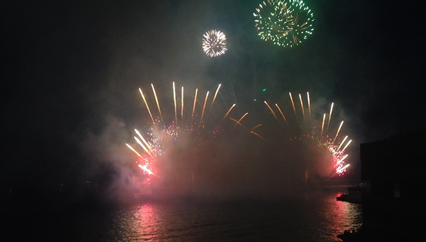 Fireworks Competition at Monte Carlo