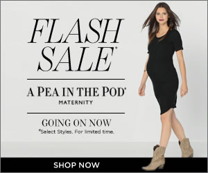Maternity Flash Sale - a pea in the pod