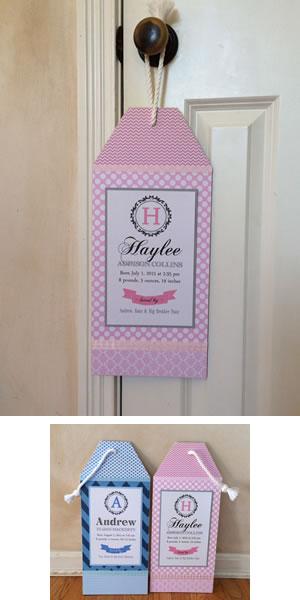 Newborn Door Hangers
