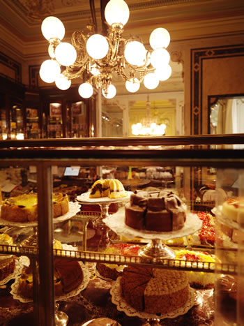 Pregnant in Vienna, Coffee House Demel