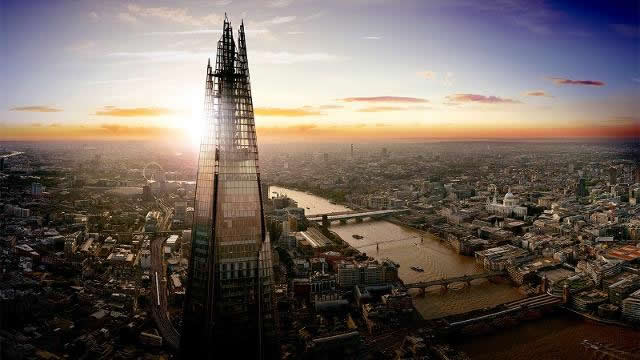 Pregnant in London - View From The Shard