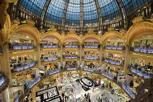 Romantic Weekend Breaks Pregnant in Paris - Galeries Lafayette