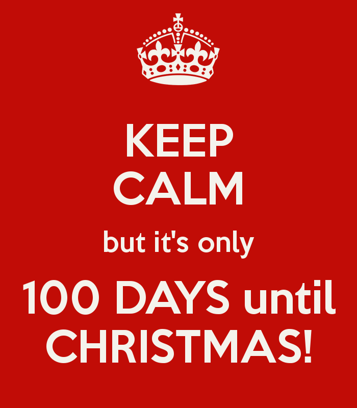 Image result for only 100 days till christmas