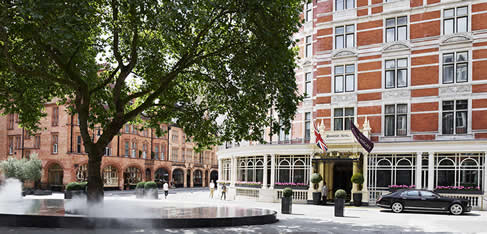 Pregnant in London - The Connaught