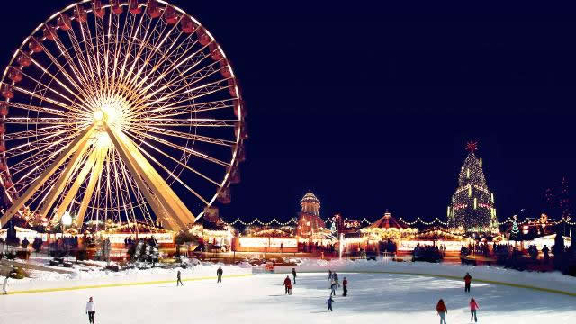 Pregnant in London - Hyde Park Winter Wonderland