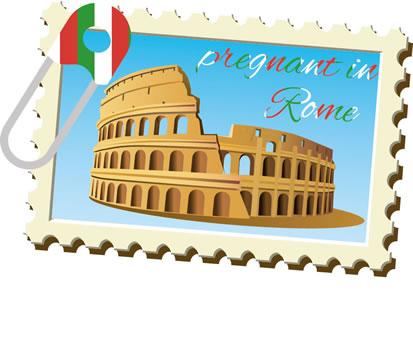 Pregnant in Rome