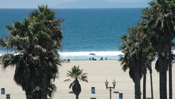 View from Room at Hyatt Regency Huntington Beach Resort and Spa. Credits : Ilonka Molijn