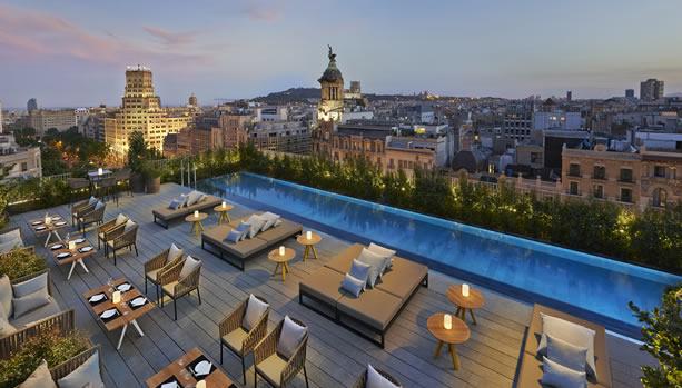 Babymoon at Mandarin Oriental, Barcelona - Terrat Rooftop