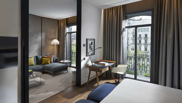 Babymoon at Mandarin Oriental, Barcelona - Boulevard Suite Bedroom