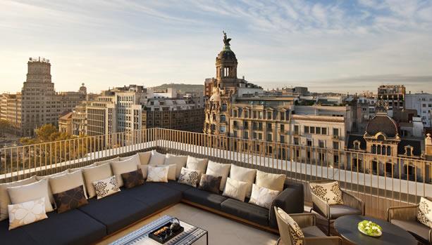 Babymoon at Mandarin Oriental, Barcelona - Penthouse Terrace