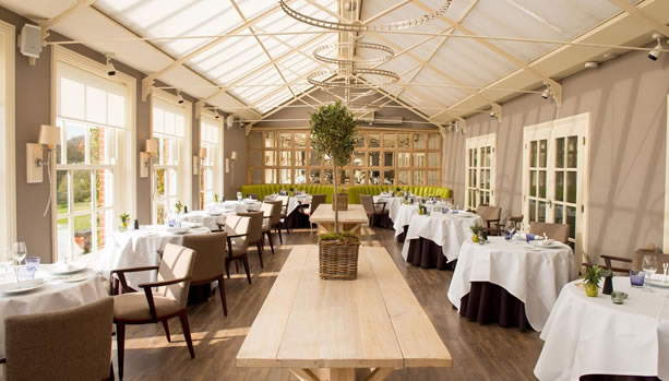 Hampshire Babymoon at Chewton Glen Hotel & Spa, Dining Room / Summer House
