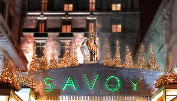 London Babymoon at The Savoy - Exterior