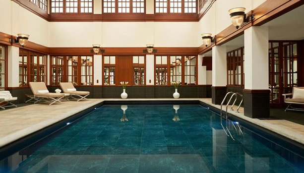 London Babymoon at The Savoy - Indoor Swimming Pool