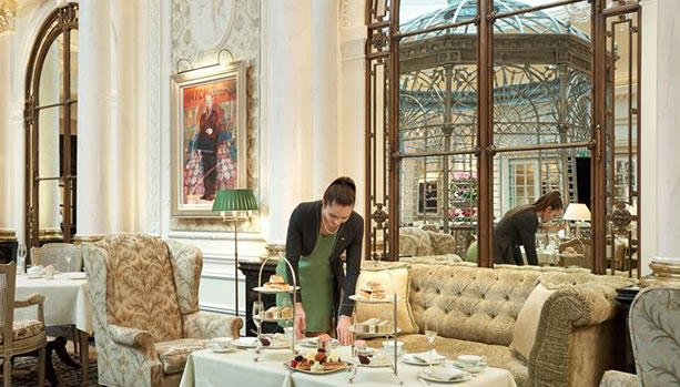 London Babymoon at The Savoy - Thames Foyer Afternoon Tea