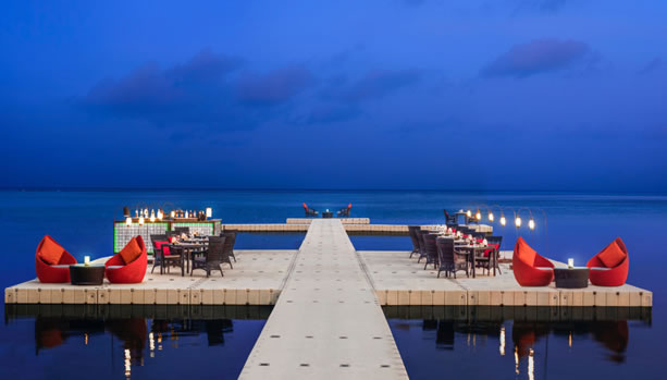 Ocean Pier - Starlight Dinner - Babymoon at Le Méridien Koh Samui Resort & Spa