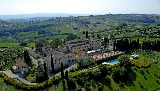 Tuscany Babymoon at Castello del Nero Hotel & Spa