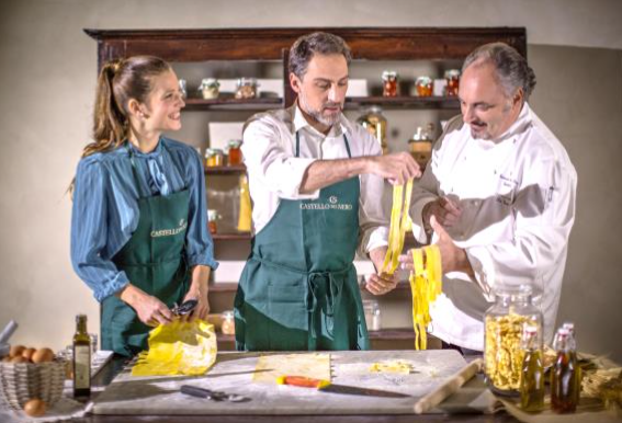Babymoon Tuscany, Cooking Class at Castello del Nero Hotel & Spa