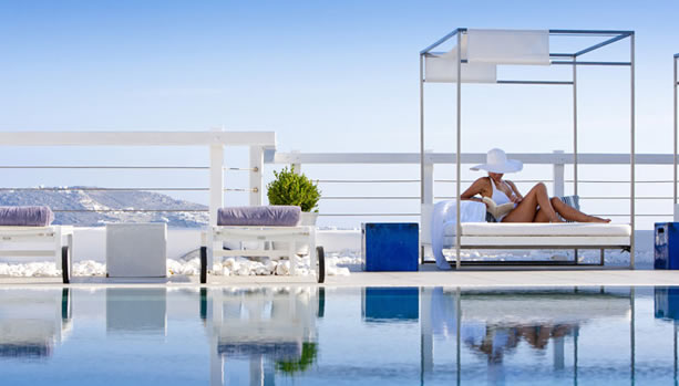 Mykonos Babymoon at Grace Mykonos