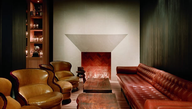 New York Babymoon at Andaz 5th Avenue - Bar Sitting Area
