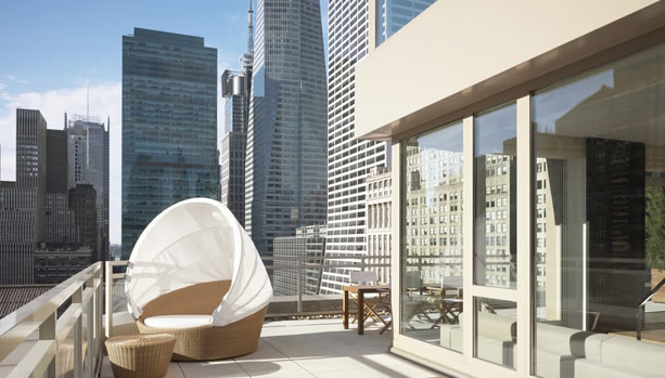New York Babymoon at Andaz 5th Avenue - Suite