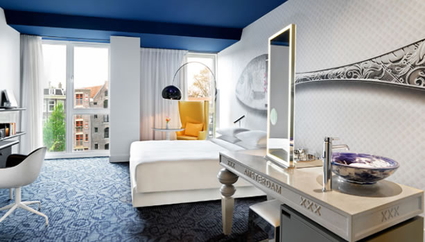 Amsterdam Babymoon at Andaz Amsterdam, Prinsengracht - Deluxe Room