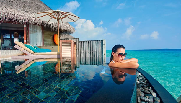 Babymoon at Constance Halaveli, Maldives