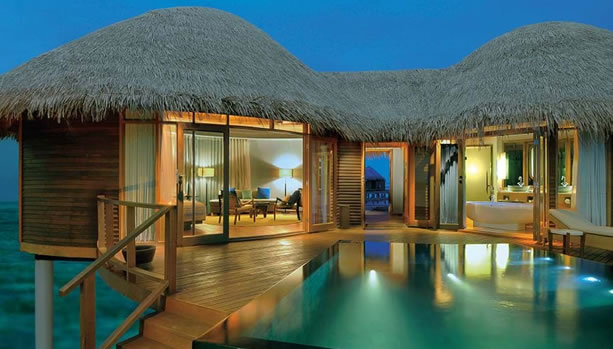 Babymoon at Constance Halaveli, Maldives - Water Villa