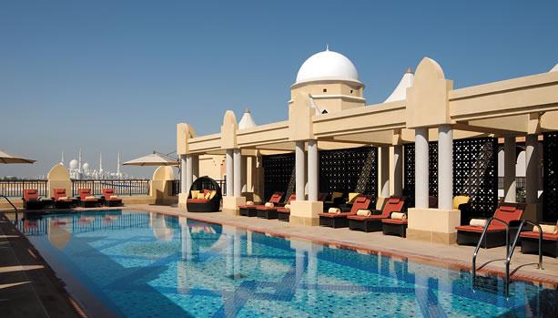 Shangri-La Hotel, Qaryat Al Beri, Abu Dhabi, Babymoon - Rooftop Pool