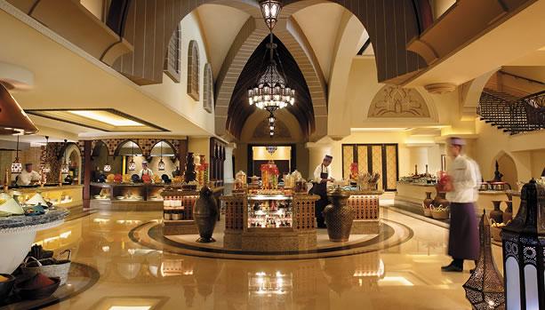 Shangri-La Hotel, Qaryat Al Beri, Abu Dhabi, Babymoon - Sofr bld buffet restaurant