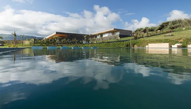 Azores Babymoon at Santa Bárbara Eco-Beach Resort - Pool