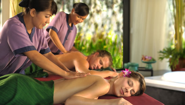 Bali Babymoon at Banyan Tree Ungasan - Couples Spa Treatment