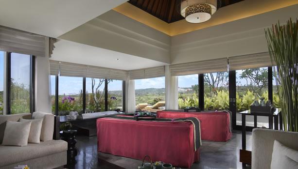 Bali Babymoon at Banyan Tree Ungasan - Spa Treatment Room