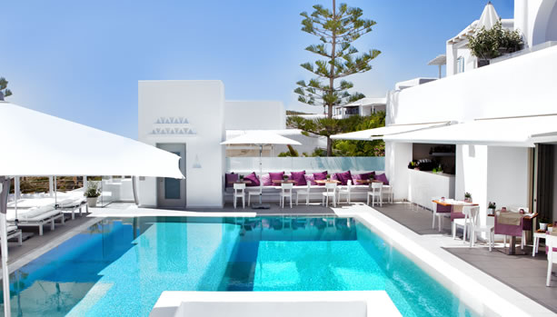Mykonos Babymoon at Grace Mykonos - Pool
