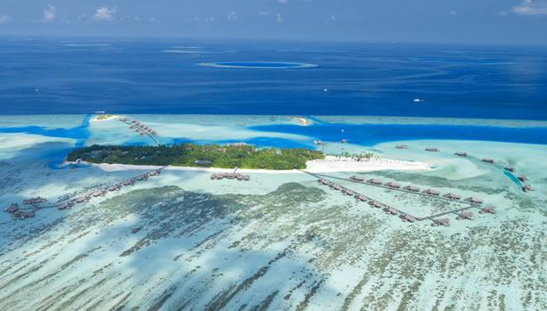 Maldives Babymoon at Gili Lankanfushi - Aerial