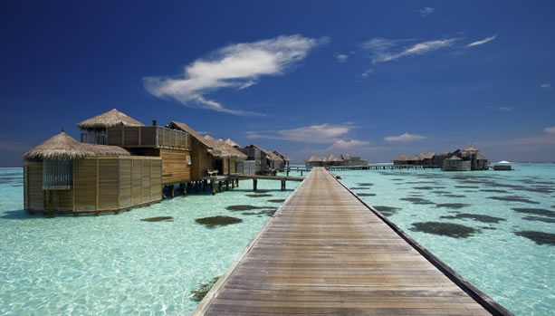 Maldives Babymoon at Gili Lankanfushi - Jetty