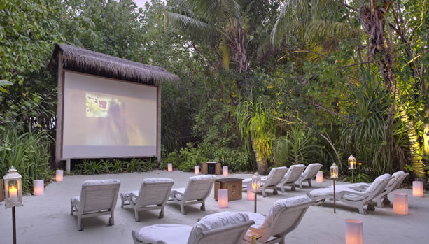 Maldives Babymoon at Gili Lankanfushi - Jungle Cinema