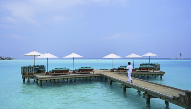 Maldives Babymoon at Gili Lankanfushi - Over Water Bar