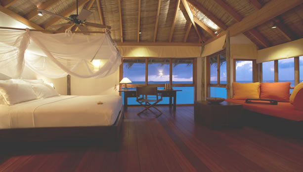 Maldives Babymoon at Gili Lankanfushi - Residence Bedroom