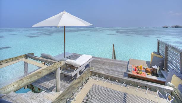 Maldives Babymoon at Gili Lankanfushi - Villa Suite Sun Deck