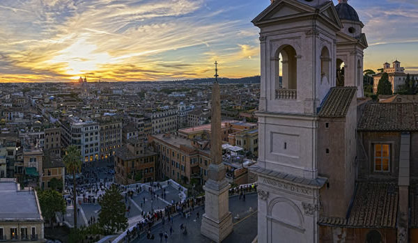 Rome Babymoon at Hotel Hassler Roma