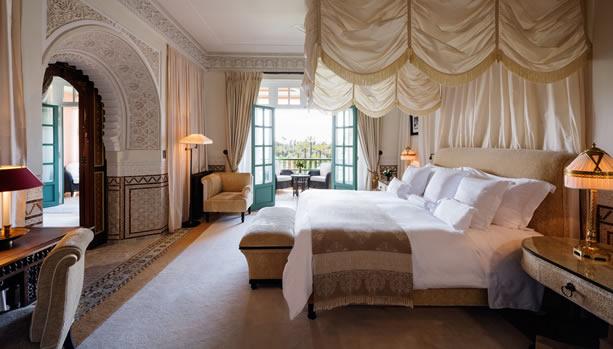 Marrakech Babymoon at La Mamounia - The Baldaquin Suite