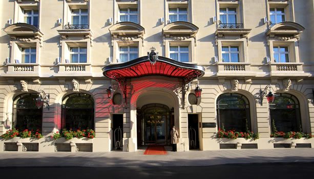 Paris Babymoon at Le Royal Monceau, Raffles Paris - Façade