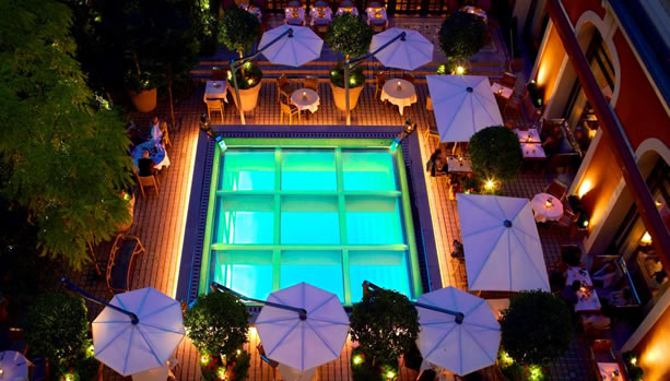 Paris Babymoon at Le Royal Monceau, Raffles Paris - Terrace Garden