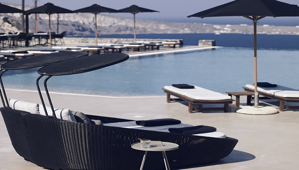 Santorini Babymoon at Santo Maris Oia Luxury Suites & Spa - main pool
