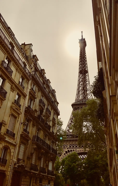 Eiffel Tower, image: Ilonka Molijn, private - things to do in Paris
